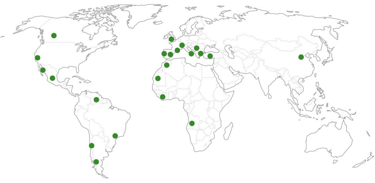 Mapa Expansión Grupo Vento