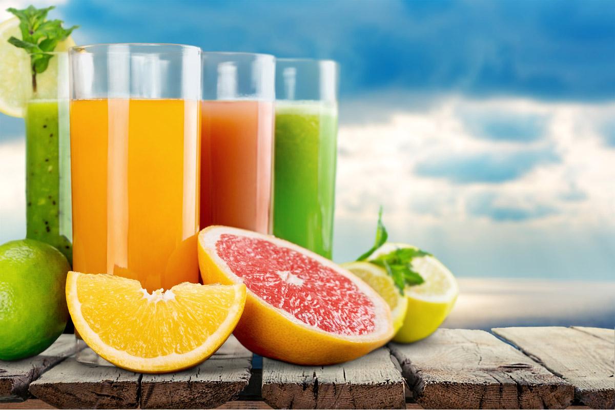 MOÛT DE RAISIN ET JUS DE FRUITS