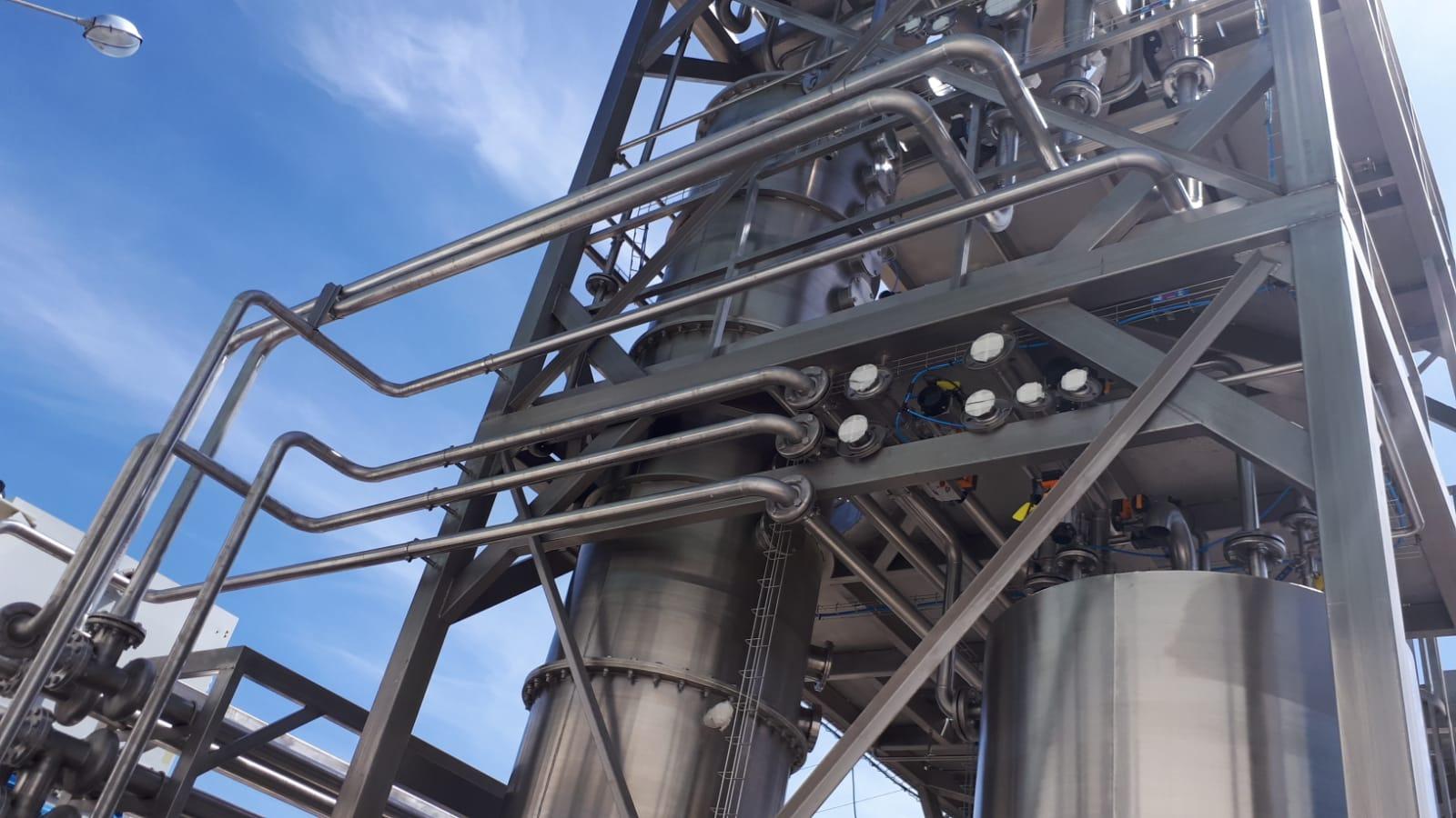 Depuración de aguas residuales con recuperación de compuestos volátiles de alto valor añadido